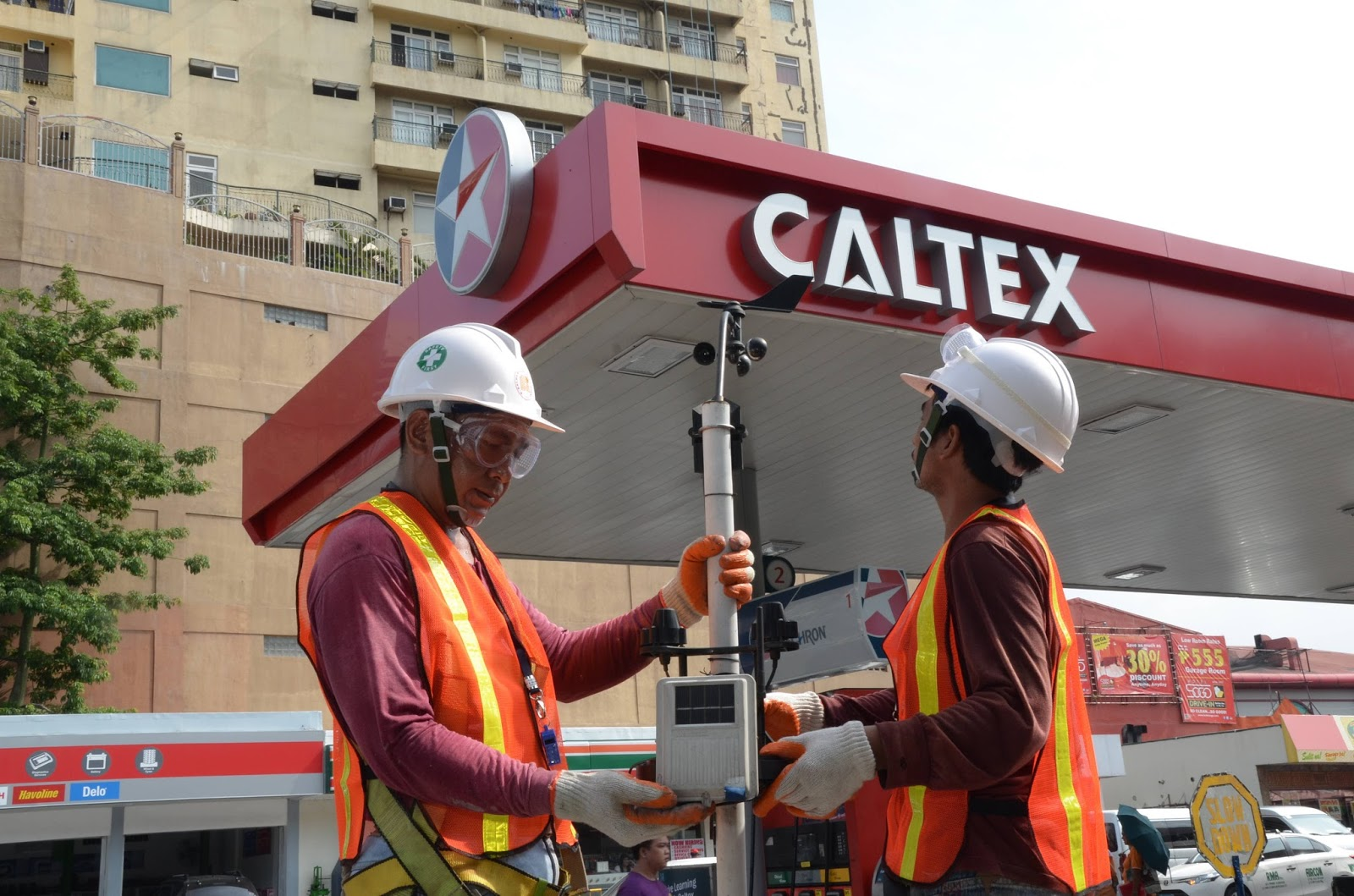 AWS unit in Caltex Station