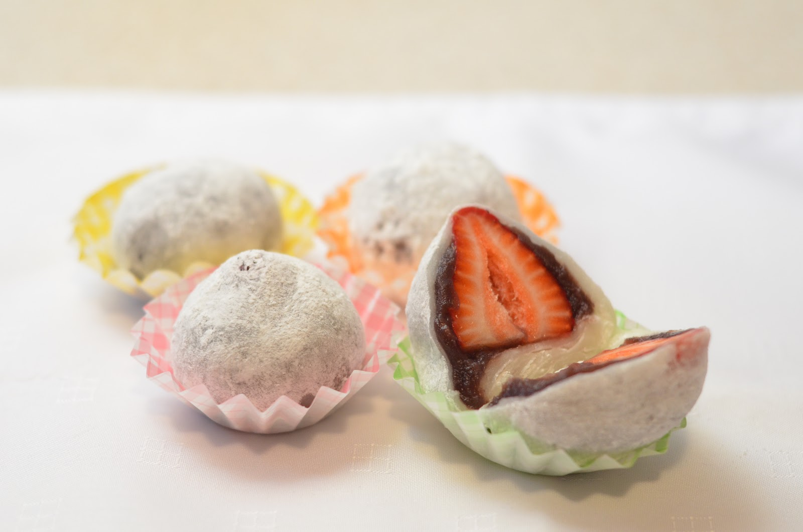 Strawberry Daifuku Mochi Recipe — Dishmaps