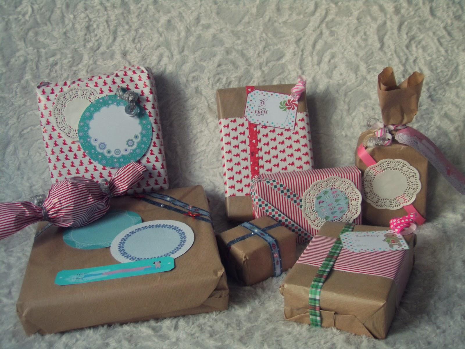 jolis emballages cadeaux