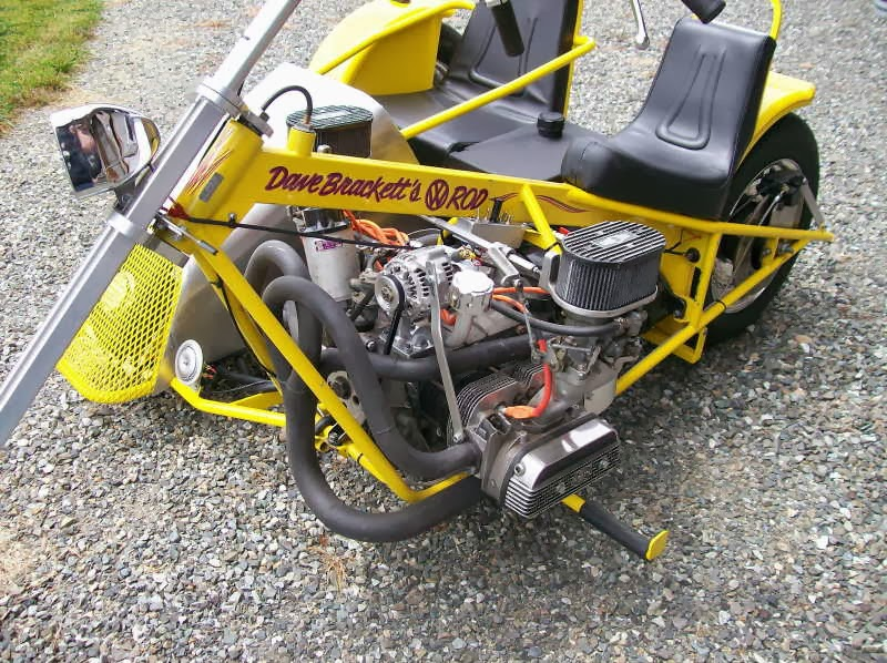 AEE Choppers: Dave Brackett has some of his creations for sale
