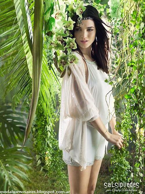 Vestidos, shorts, blusas y kimonos de fiesta verano 2015 Salsipuedes.