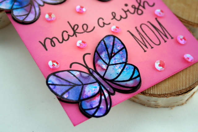 Butterfly Birthday Tag by Jess Crafts using Lawn Fawn Flutter By
