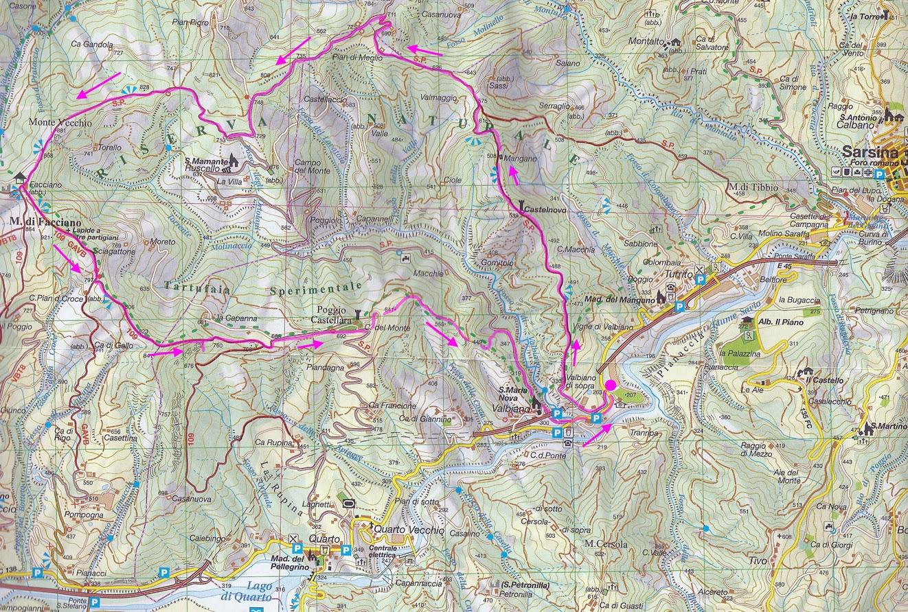 Escursionismo a 360°: Monte Facciano (da Valbiano) E-EE