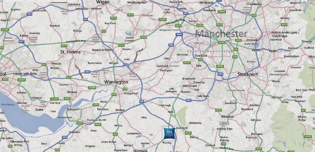 曼徹斯特酒店投資地圖