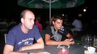 Alberto Moncayo y yo en el hotel de chemitz alemania
