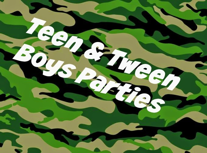 6 Party Themes for Teen & Tween Boys