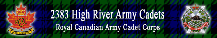 2383 High River Army Cadets