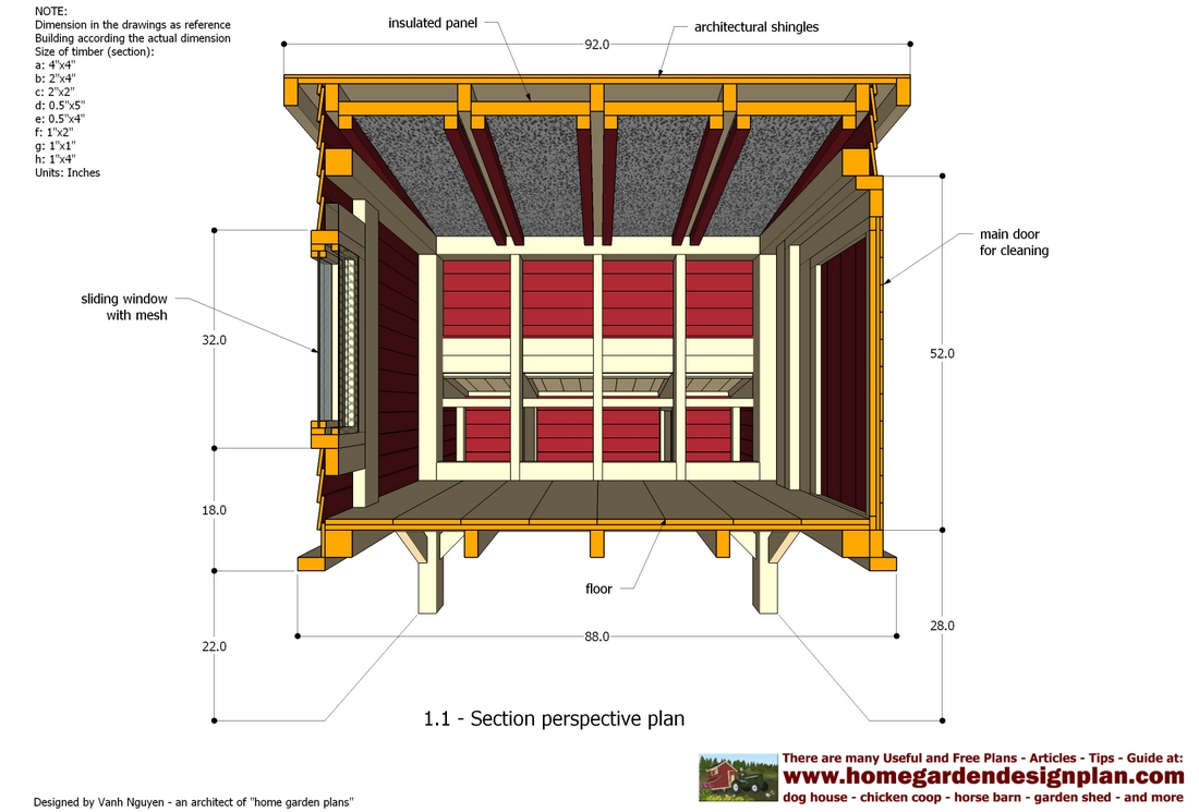 Free chicken house plans pdf home design and style for Free chicken plans