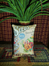 DWARF NASTURTIUM SEED PACKET PILLOW TUCK