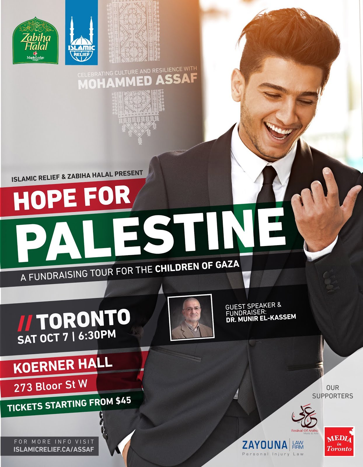 MOHAMMED ASSAF CONCERT - OCT 7