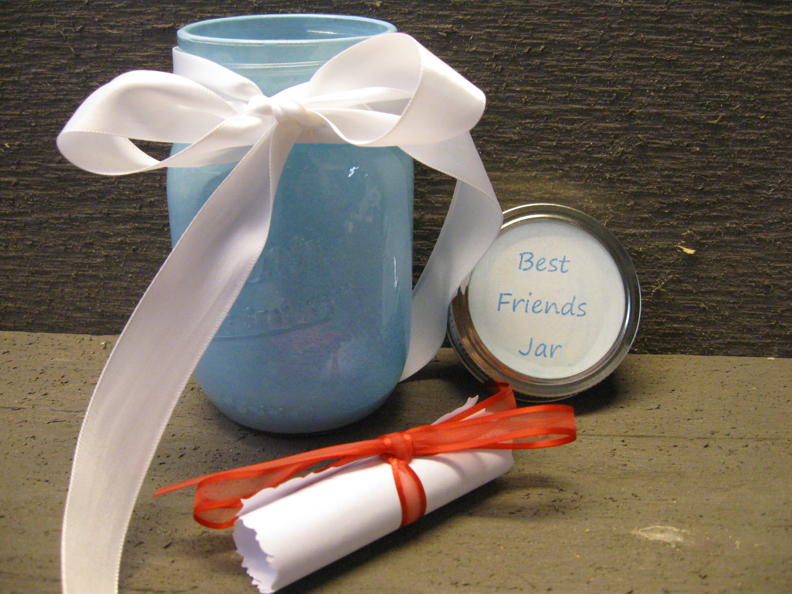 craft klatch best friends jar craft tutorial