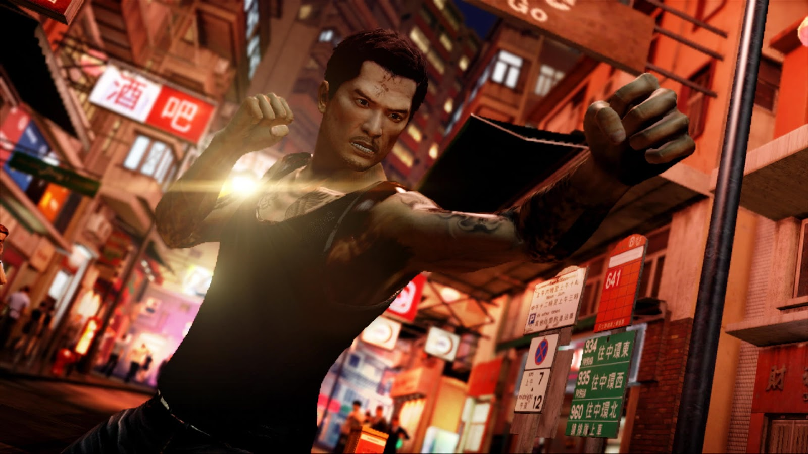 Sleeping Dogs HD & Widescreen Wallpaper 0.727339381845452
