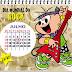 Novos Calendários de Datas Comemorativas de Julho com a Turma da Mônica.
