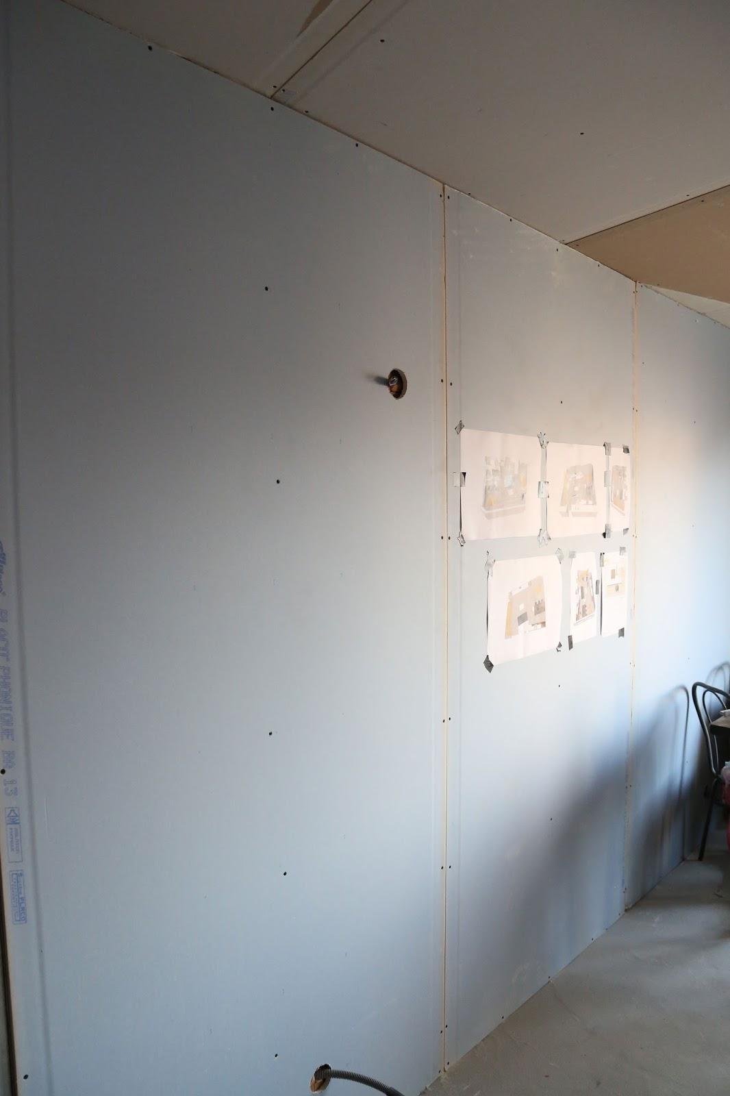 R novation de ma maison joints bandes de pl tre - Faire les joints de placo ...
