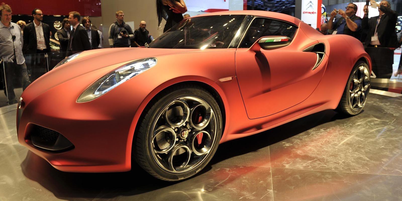 2011 Alfa Romeo C4 Concept