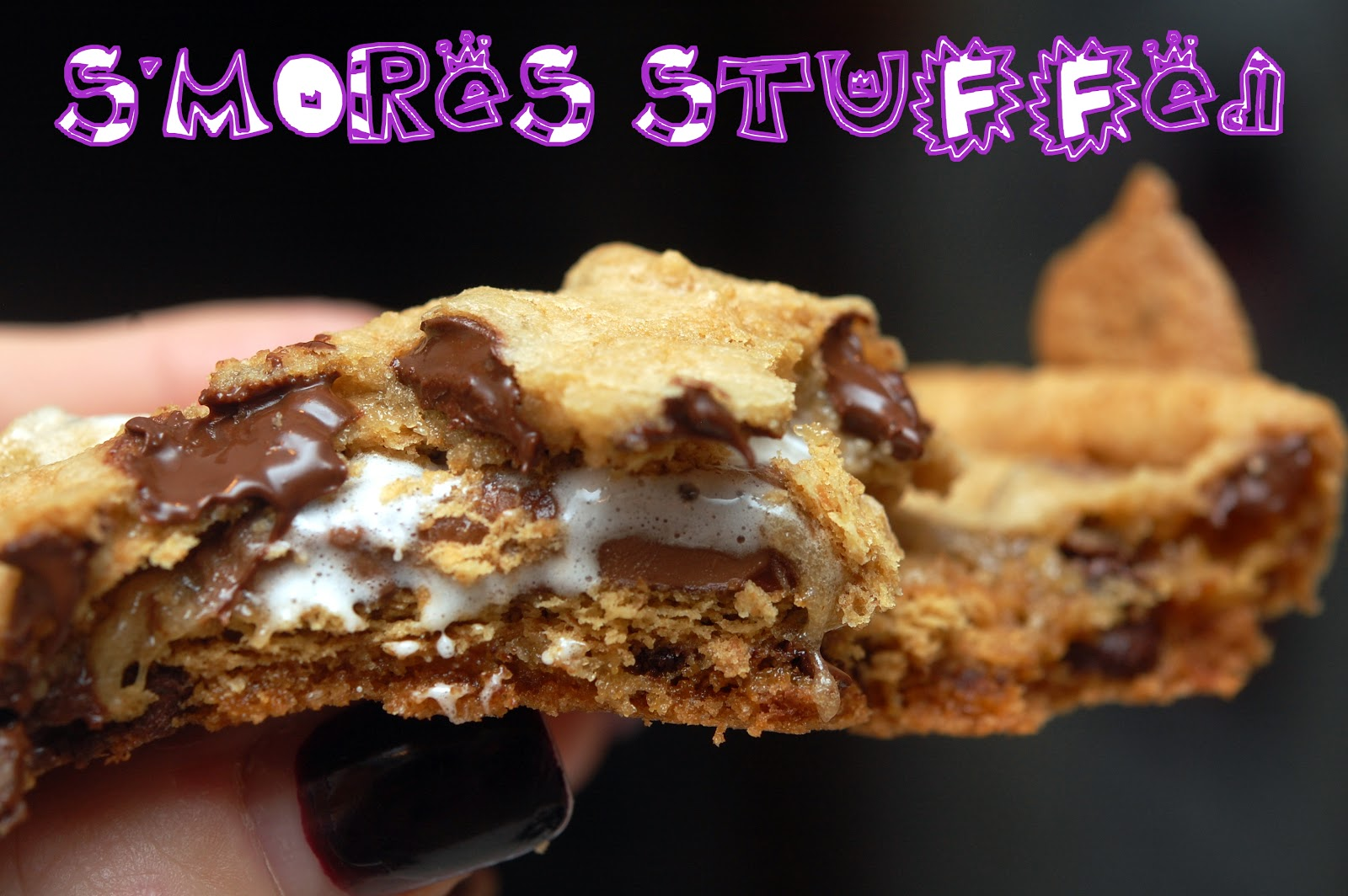 MORES STUFFED CHOCOLATE CHIP COOKIES....COMPLETELY OVERSIZED! - Hugs ...