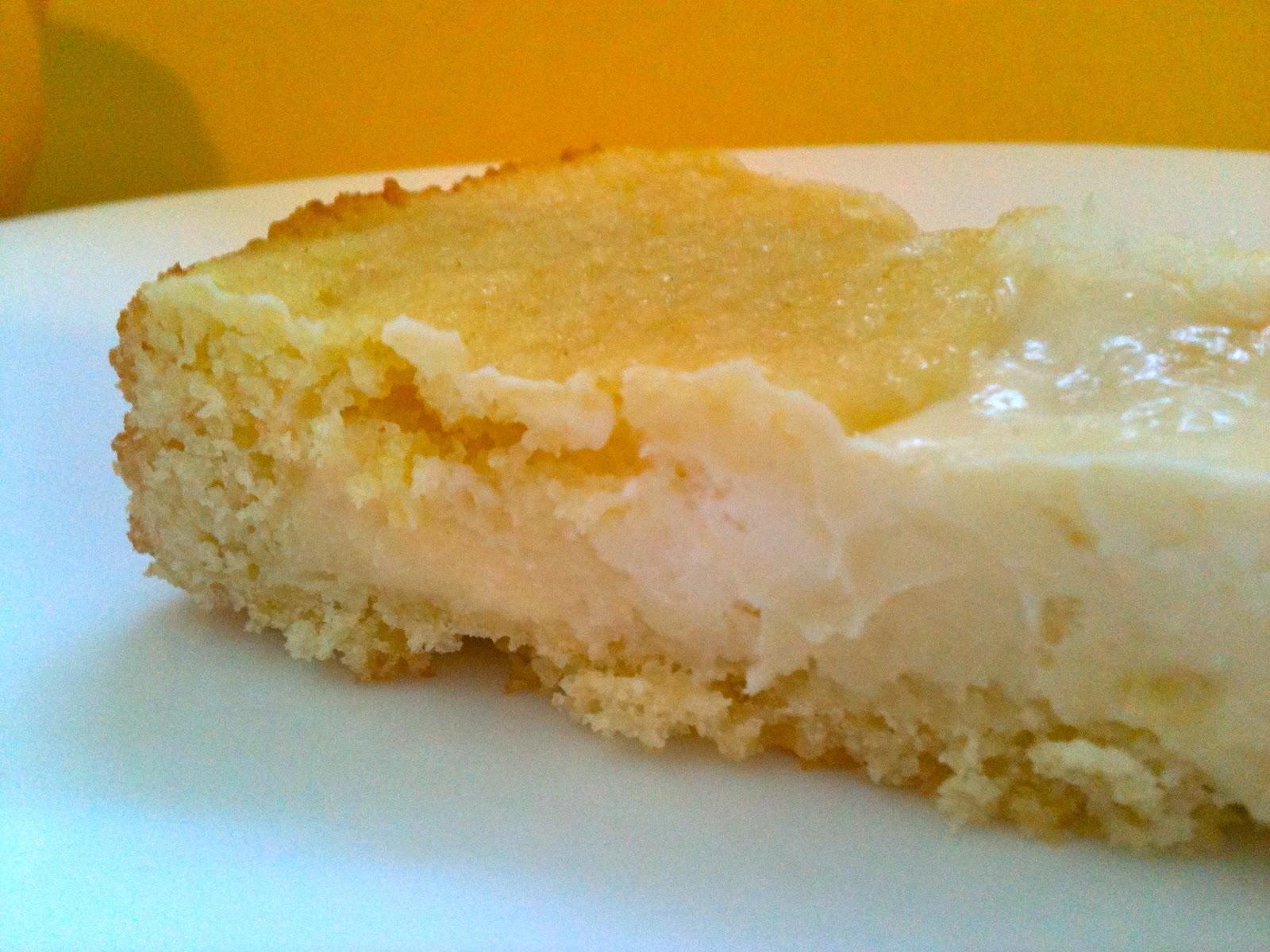 Lemon Cream Butter Cake ~ Crackerjack23
