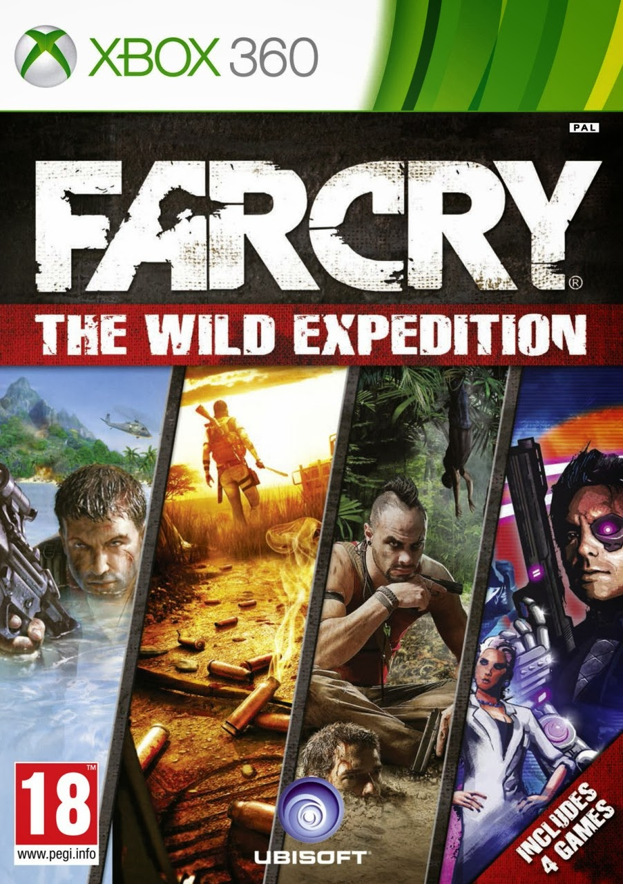 Jaquette Xbox360 de Far Cry Wild Expédition