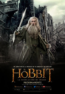The Hobbit - The Desolation Of Smaug poster