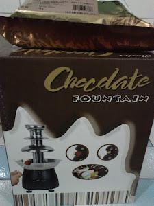 Choc Fountain RM299 FREE CHOC 1kg