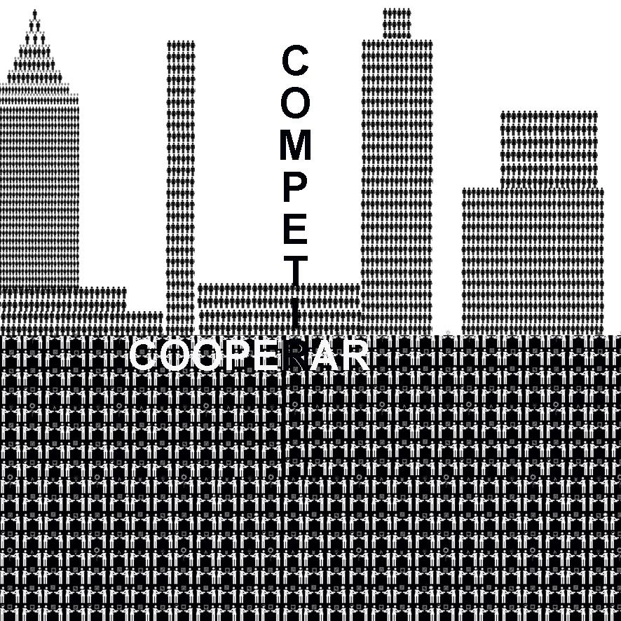 pictogramas , isotipos, cooperacion, competicion