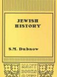 Jewish History : An Essay in the Philosophy of History