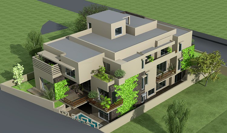 3d front pakistani sweet home houses floor plan layout 3d house front elevation. Black Bedroom Furniture Sets. Home Design Ideas