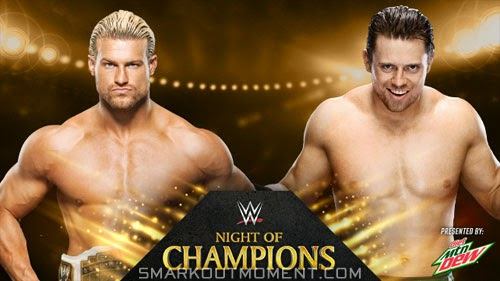 Intercontinental Championship Night of Champions 2014 Match