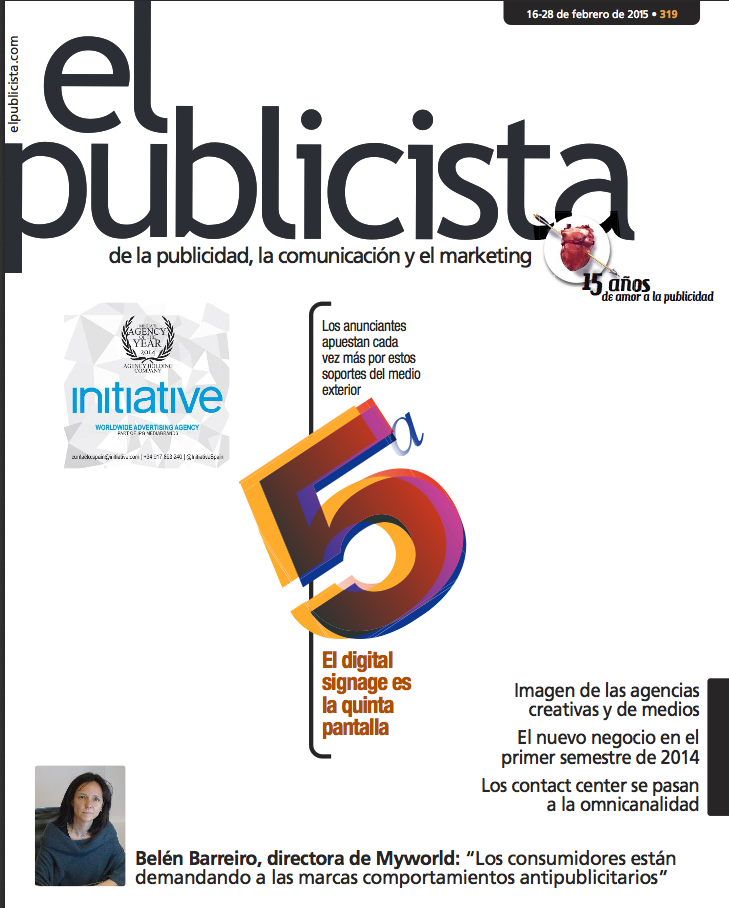 Portada de El Publicista: especial digital signage