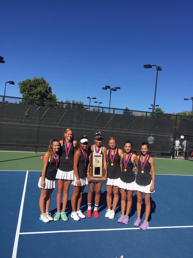 Lone Peak Varsity Tennis 2015