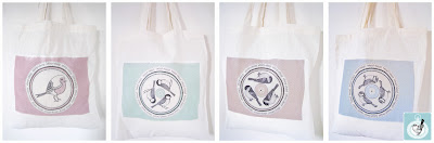 Garden birds range of bags.