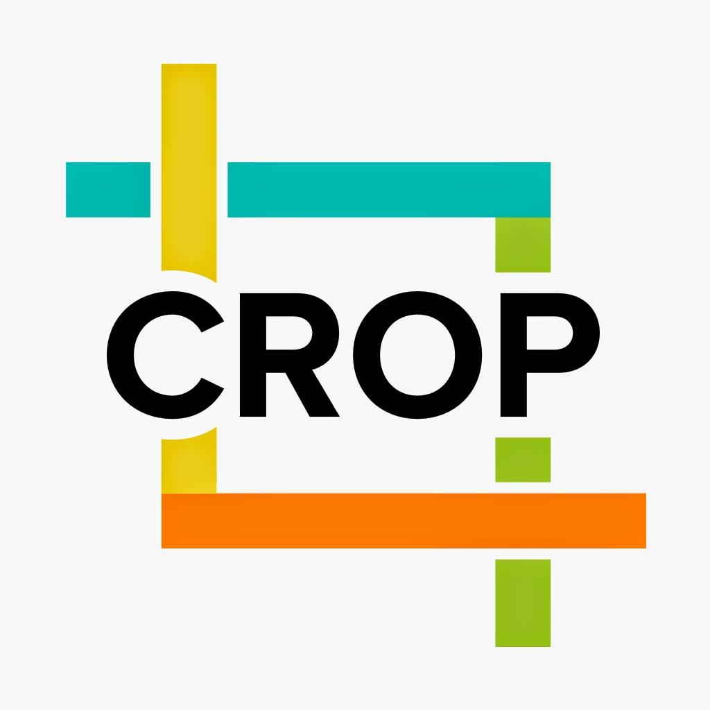 أيقونة تطبيق قص مقاطع الفيديو | Crop on the Fly | أيفون