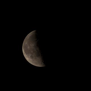 48% waning moon