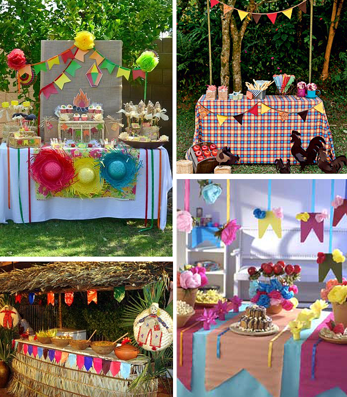 decoracao festa caipira:Caipiras e espantalhos são os personagens principais da festa. Se