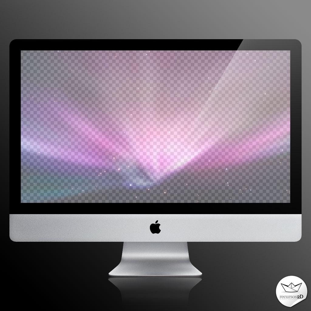 Userscode: Plantilla de iMac en PSD