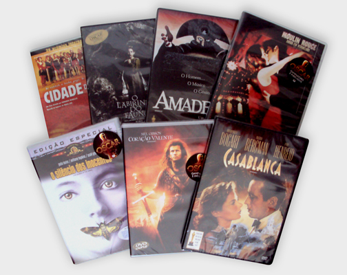 DVDs Oscar Bolão
