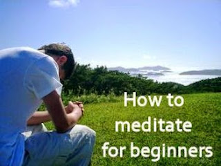 How To Meditate For Beginners;picture of a boy meditating.