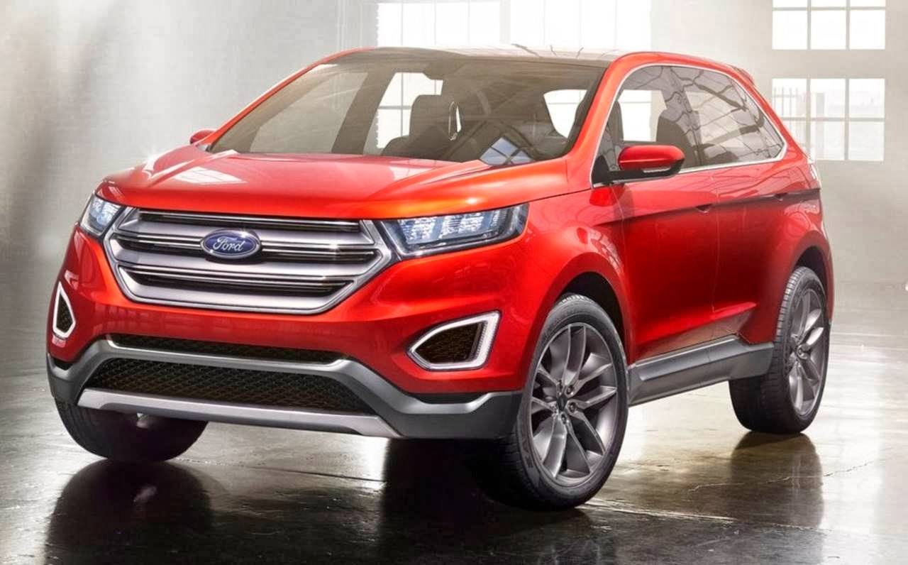 Novo Ford Edge 2015 é apresentado como conceito | CAR.BLOG.BR