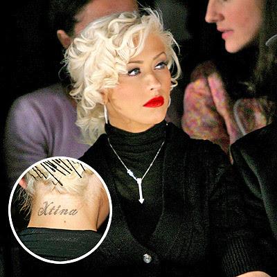 christina name tattoo - photo #42