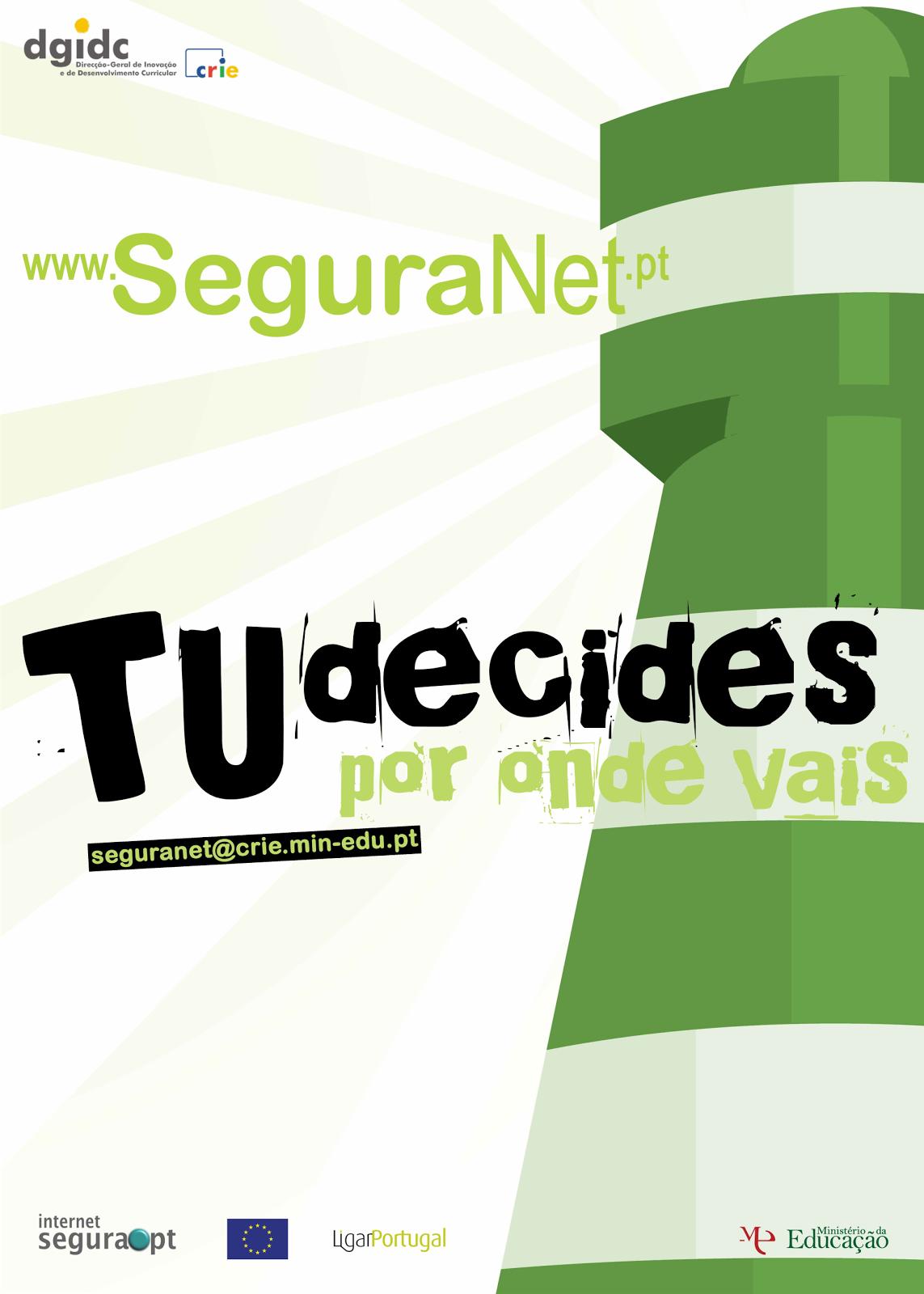 Aprende de forma divertida com internetsegura.pt e SeguraNet.pt