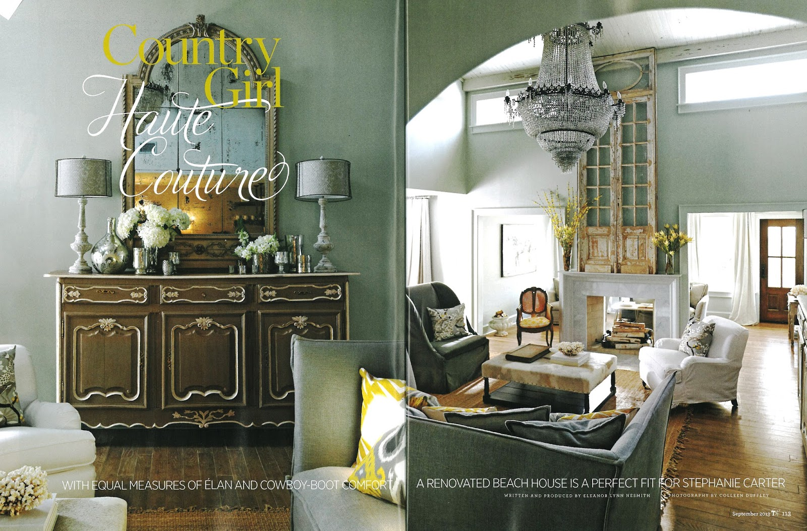judith march: traditional homes magazine features designer