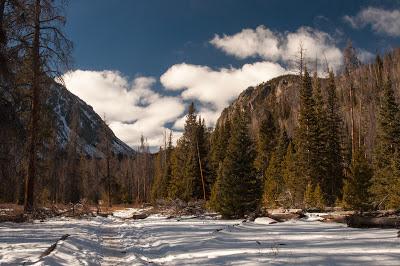 Buffalo Mountain and Red Peak