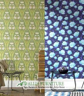 model Wallpaper untuk dinding rumah