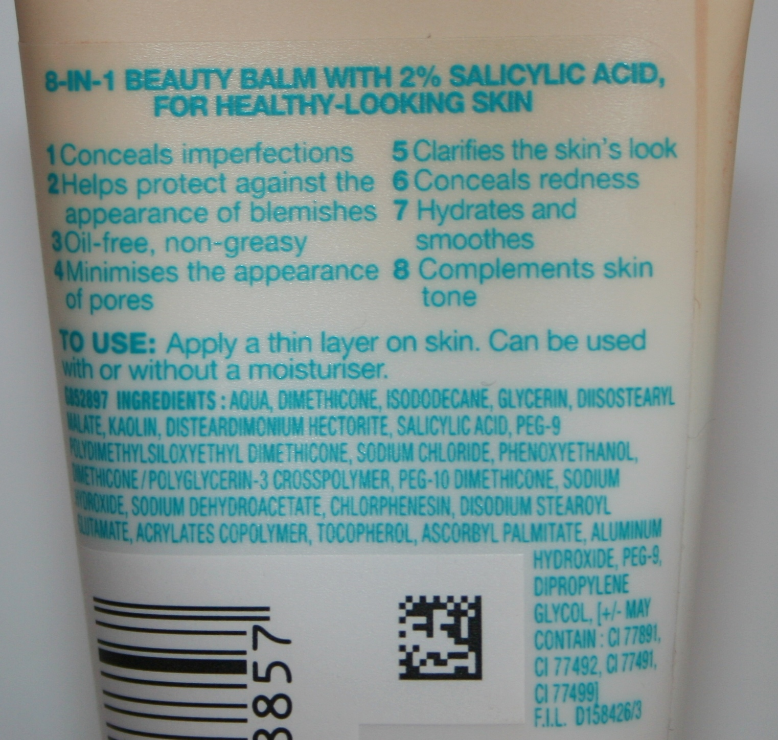 Products containing salicylic acid