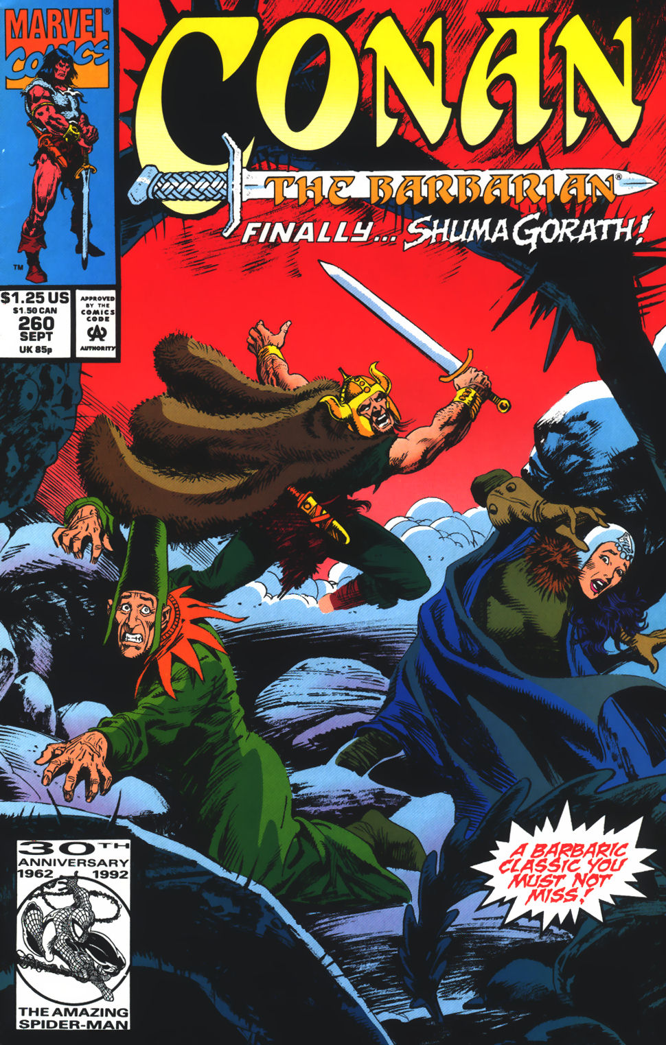 Conan the Barbarian (1970) Issue #260 #272 - English 1