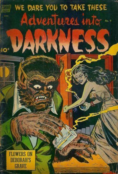 The Alex Toth Archives Toth Adventures Into Darkness 9