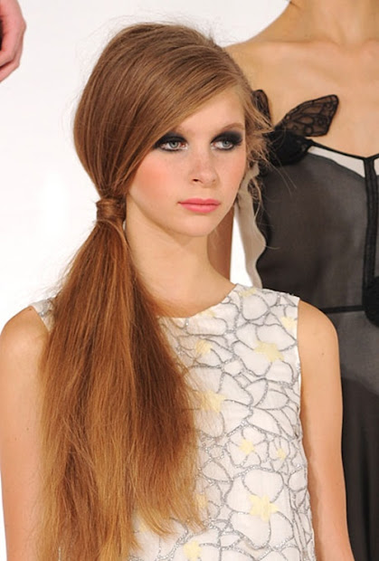 fashion trends reports ponytail