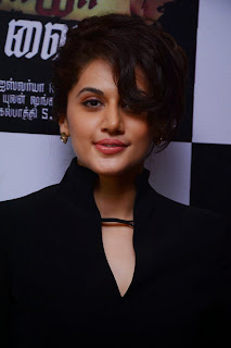 Actress Taapsee Pannu Latest Pictures at Vai Raja Vai Music Launch  2