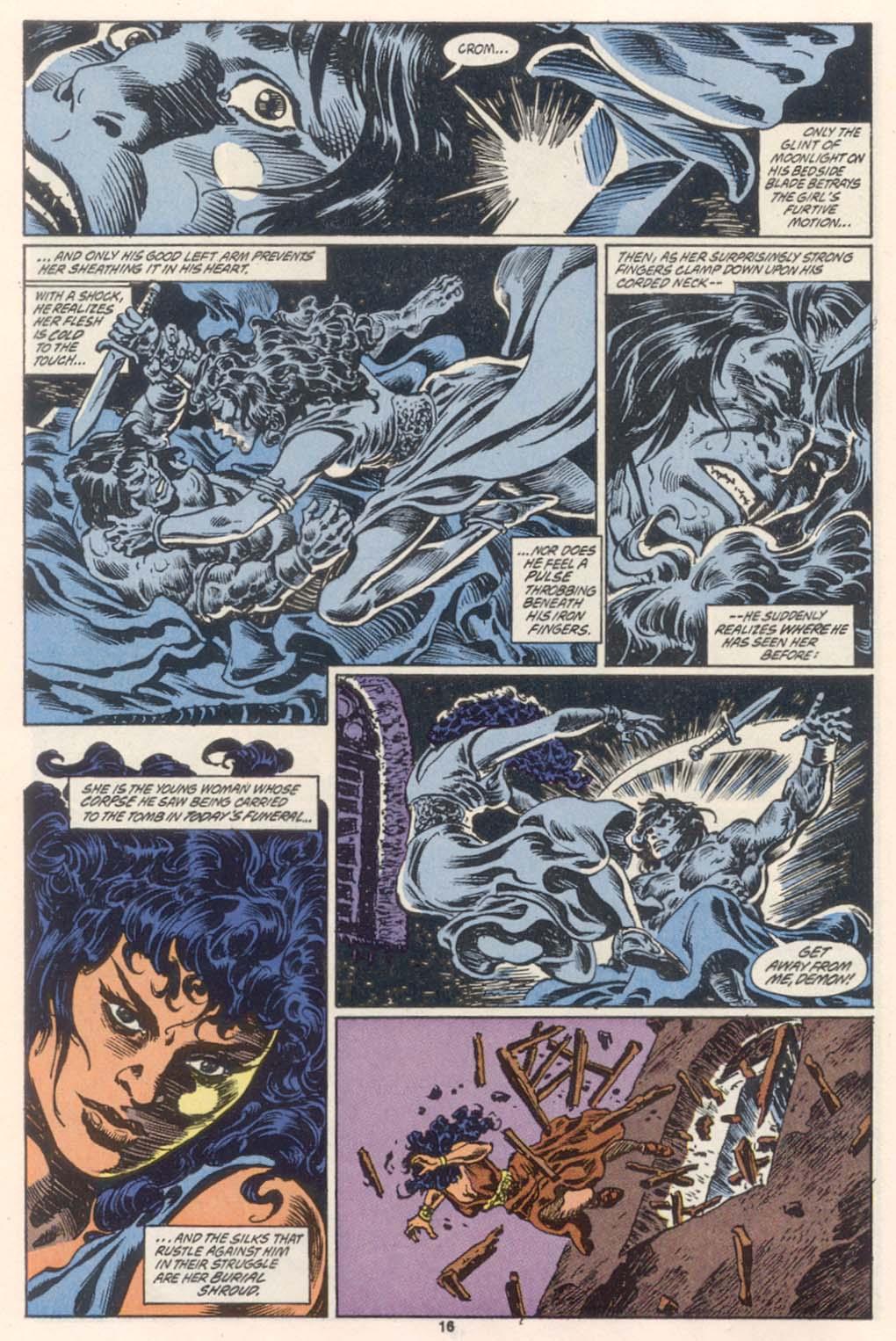 Conan the Barbarian (1970) Issue #252 #264 - English 14