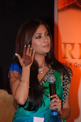 Bollywood Actress Riya Sen Saree Photos